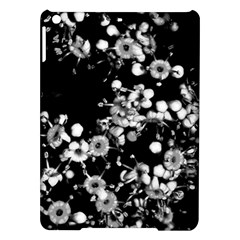 Little Black And White Flowers Ipad Air Hardshell Cases by timelessartoncanvas