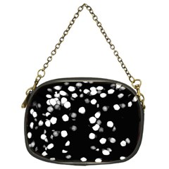 Little Black And White Dots Chain Purses (one Side)  by timelessartoncanvas