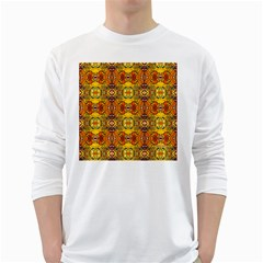 Roof White Long Sleeve T Shirts by MRTACPANS