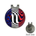 France Golf Ball Marker Hat Clip