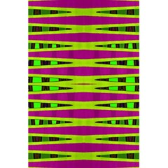 Bright Green Pink Geometric 5 5  X 8 5  Notebooks by BrightVibesDesign