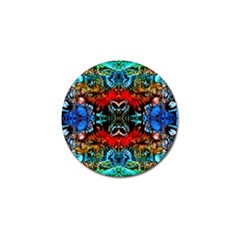 Colorful  Underwater Plants Pattern Golf Ball Marker (10 Pack) by Costasonlineshop