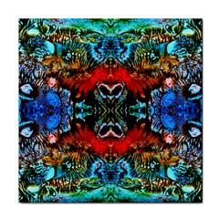 Colorful  Underwater Plants Pattern Face Towel by Costasonlineshop
