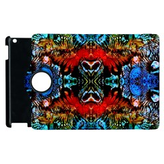 Colorful  Underwater Plants Pattern Apple Ipad 2 Flip 360 Case by Costasonlineshop