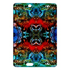 Colorful  Underwater Plants Pattern Kindle Fire Hd (2013) Hardshell Case by Costasonlineshop
