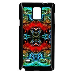 Colorful  Underwater Plants Pattern Samsung Galaxy Note 4 Case (black) by Costasonlineshop