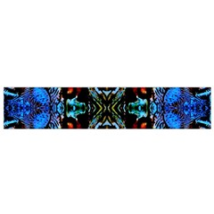 Colorful  Underwater Plants Pattern Flano Scarf (small) by Costasonlineshop