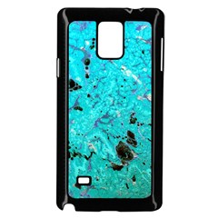 Aquamarine Collection Samsung Galaxy Note 4 Case (Black) by bighop