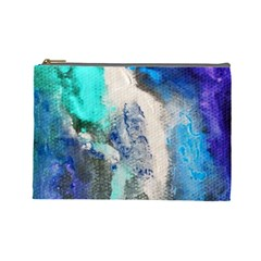 Violet Art Cosmetic Bag (Large) by 20JA