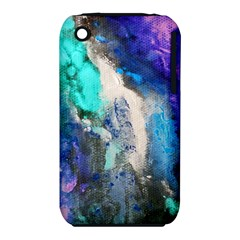 Violet Art Apple Iphone 3g/3gs Hardshell Case (pc+silicone) by 20JA