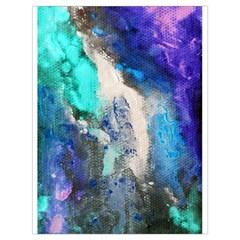 Violet Art Drawstring Bag (large) by 20JA