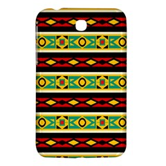 Rhombus Chains And Other Shapes samsung Galaxy Tab 3 (7 ) P3200 Hardshell Case by LalyLauraFLM