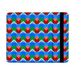 Shapes Rows samsung Galaxy Tab Pro 8 4  Flip Case by LalyLauraFLM