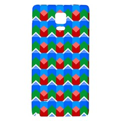 Shapes Rows 			samsung Note 4 Hardshell Back Case by LalyLauraFLM