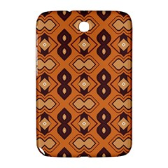 Brown Leaves Pattern 			samsung Galaxy Note 8 0 N5100 Hardshell Case by LalyLauraFLM