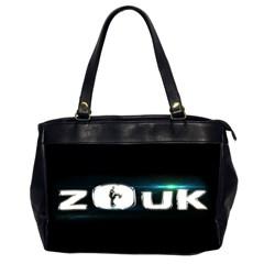 Zouk Dance Office Handbags (2 Sides)  by LetsDanceHaveFun