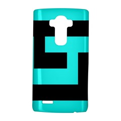 Black And Teal Lg G4 Hardshell Case