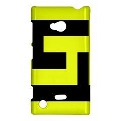Black And Yellow Nokia Lumia 720 by timelessartoncanvas