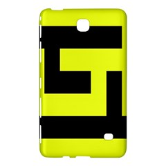Black And Yellow Samsung Galaxy Tab 4 (8 ) Hardshell Case  by timelessartoncanvas