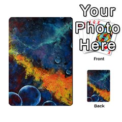Space Balls Multi Purpose Cards (rectangle)  by timelessartoncanvas