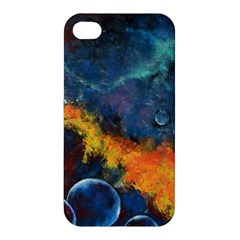 Space Balls Apple Iphone 4/4s Hardshell Case by timelessartoncanvas