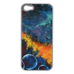 Space Balls Apple Iphone 5 Case (silver) by timelessartoncanvas