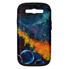 Space Balls Samsung Galaxy S Iii Hardshell Case (pc+silicone) by timelessartoncanvas