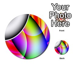 Psychedelic Design Multi Purpose Cards (round)  by timelessartoncanvas