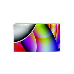 Psychedelic Design Cosmetic Bag (xs) by timelessartoncanvas