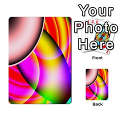 Colorful 1 Multi Purpose Cards (rectangle)  by timelessartoncanvas