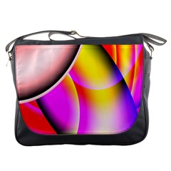 Colorful 1 Messenger Bags by timelessartoncanvas
