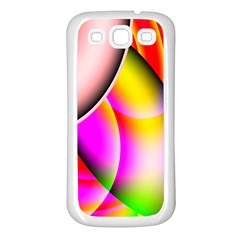 Colorful 1 Samsung Galaxy S3 Back Case (white) by timelessartoncanvas