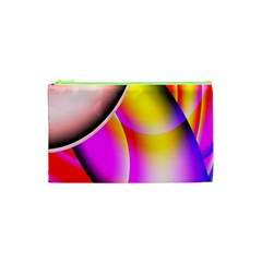 Colorful 1 Cosmetic Bag (xs) by timelessartoncanvas