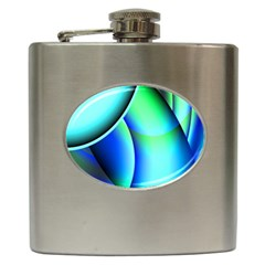 New 2 Hip Flask (6 Oz) by timelessartoncanvas