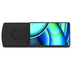 New 2 Usb Flash Drive Rectangular (4 Gb)  by timelessartoncanvas