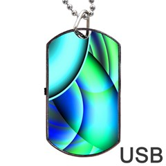 New 2 Dog Tag Usb Flash (two Sides)  by timelessartoncanvas