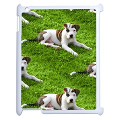 Pit Bull T Bone Puppy Apple Ipad 2 Case (white) by ButThePitBull