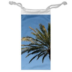 Tropical Palm Tree  Jewelry Bags by BrightVibesDesign