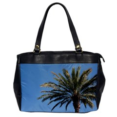 Tropical Palm Tree  Office Handbags by BrightVibesDesign