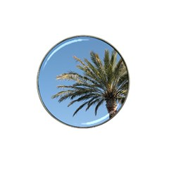 Tropical Palm Tree  Hat Clip Ball Marker by BrightVibesDesign