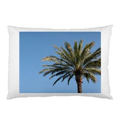 Tropical Palm Tree  Pillow Case (Two Sides) by BrightVibesDesign
