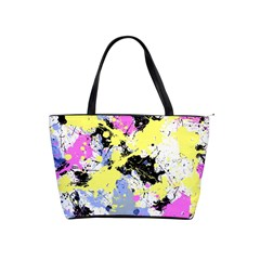 Abstract Shoulder Handbags by Uniqued