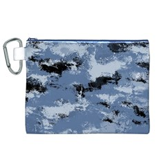 Abstract #3 Canvas Cosmetic Bag (XL)  by Uniqued