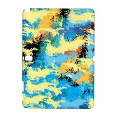 Abstract #4 Samsung Galaxy Note 10 1 (p600) Hardshell Case by Uniqued