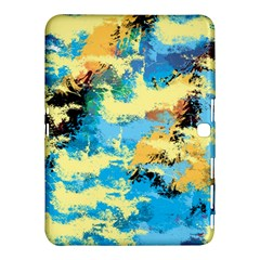 Abstract #4 Samsung Galaxy Tab 4 (10 1 ) Hardshell Case  by Uniqued