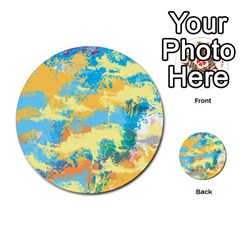 Abstract #5 Multi Purpose Cards (round)  by Uniqued