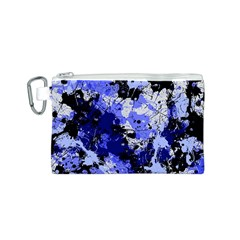 Abstract #7 Canvas Cosmetic Bag (S) by Uniqued