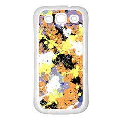 Abstract #9 Samsung Galaxy S3 Back Case (white) by Uniqued