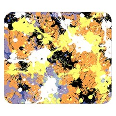Abstract #9 Double Sided Flano Blanket (Small)  by Uniqued