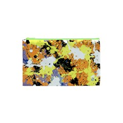 Abstract #10 Cosmetic Bag (XS) by Uniqued